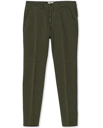 Briglia 1949 Slim Fit Cotton Stretch Chino Olive men 50
