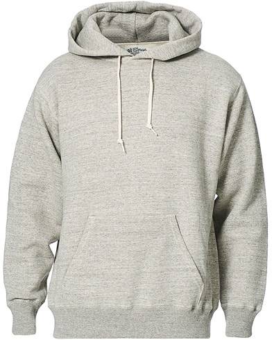 orSlow Loop Wheel Hooded Sweatshirt Heather Grey men 1 - XS