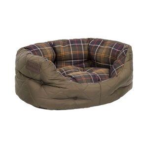 Barbour Heritage Quilted Dog Bed 18' Olive men One size Grøn