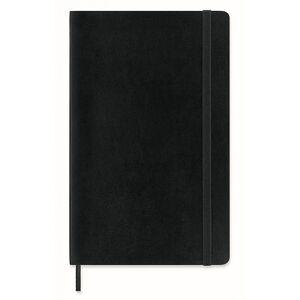 Moleskine 12-Month Weekly Notebook Planner Soft Black men One size Sort