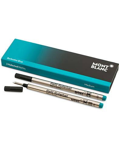 Montblanc 2 Rollerball Refills Barbados Blue men One size Blå