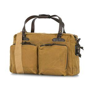 Filson 48-Hours Duffle Bag Dark Tan Canvas men One size Beige