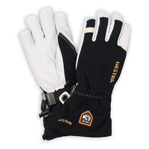 Hestra Army Leather GORE-TEX® Glove Black/White men 7 Sort