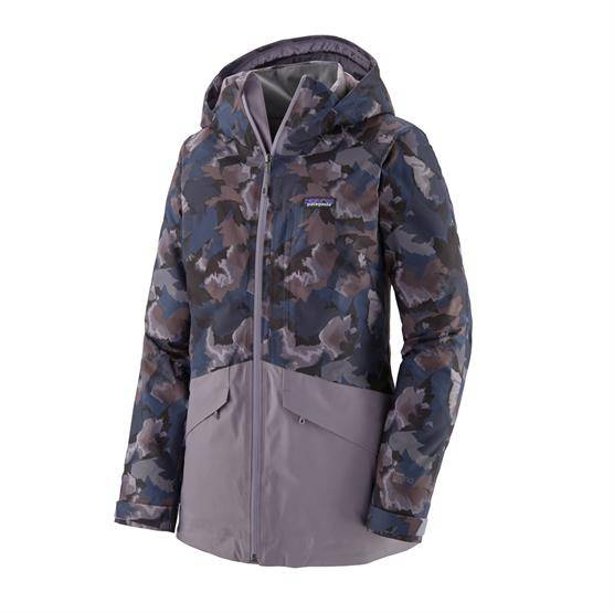 Patagonia Womens Insulated Snowbelle Jacket, Maple Camo S