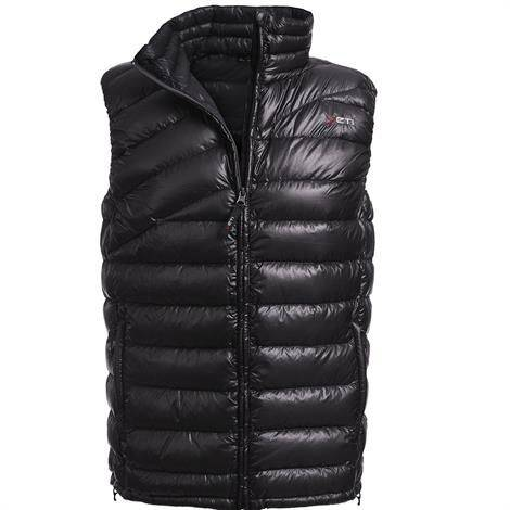 Yeti Solace Lightweight Down Vest Herre, Black / Black