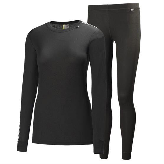 Helly Hansen Womens HH Comfort Dry 2-Pack, Black