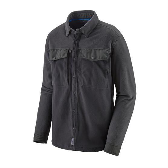 Patagonia Mens L/S Early Rise Snap Shirt, Ink Black