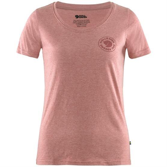 Fjällräven 1960 Logo T-Shirt Womens, Raspberry Red / Melange Str. 54