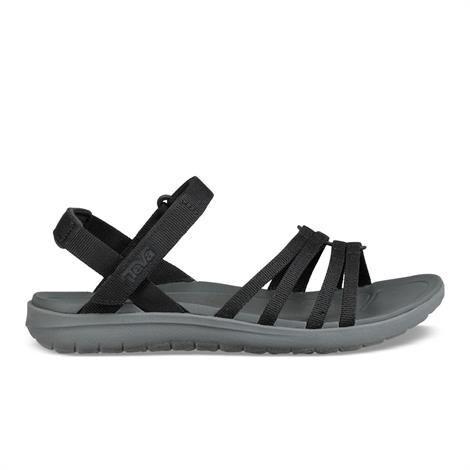 Teva Sanborn Cota Sandal Dame, Black 38