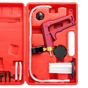 tectake Vakuumtester - sort/rød