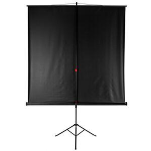 tectake Projektorlærred på stativ - 178 x 178 cm