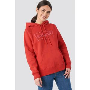 Levi's Graphic Sport Hsmk Outline Hoodie - Red