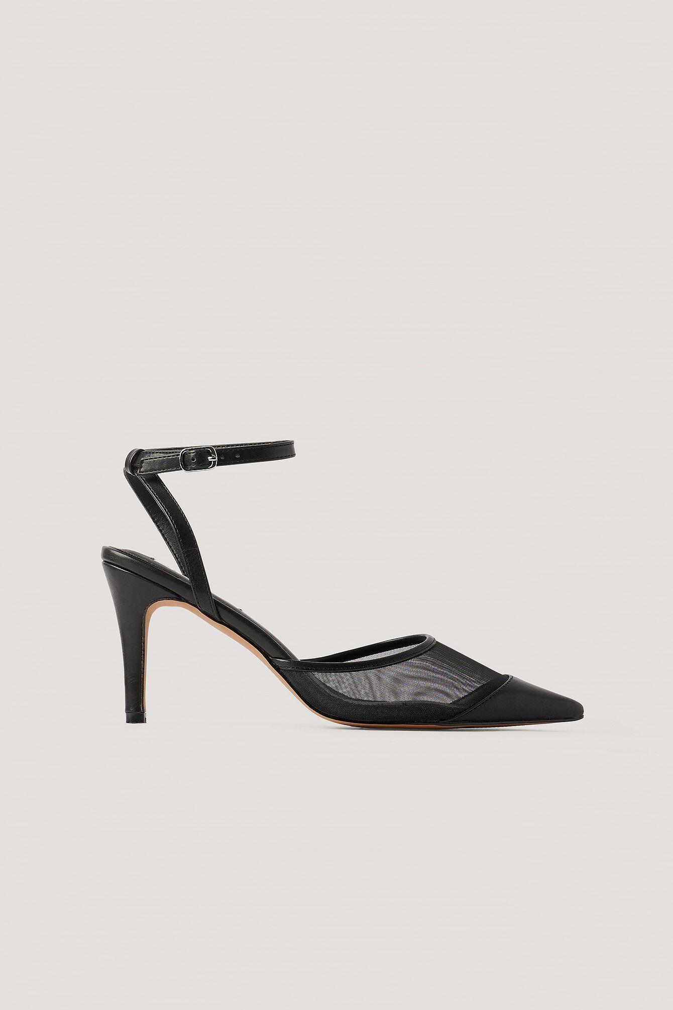 NA-KD Shoes Spidse Hæle - Black