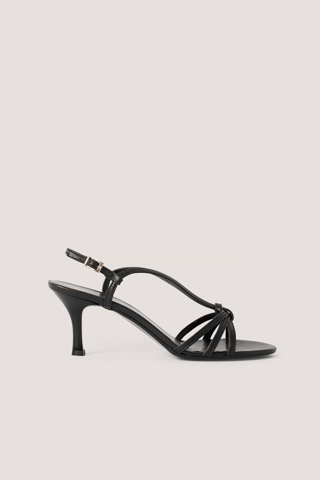 Trendyol Classic Heel Sandals - Black