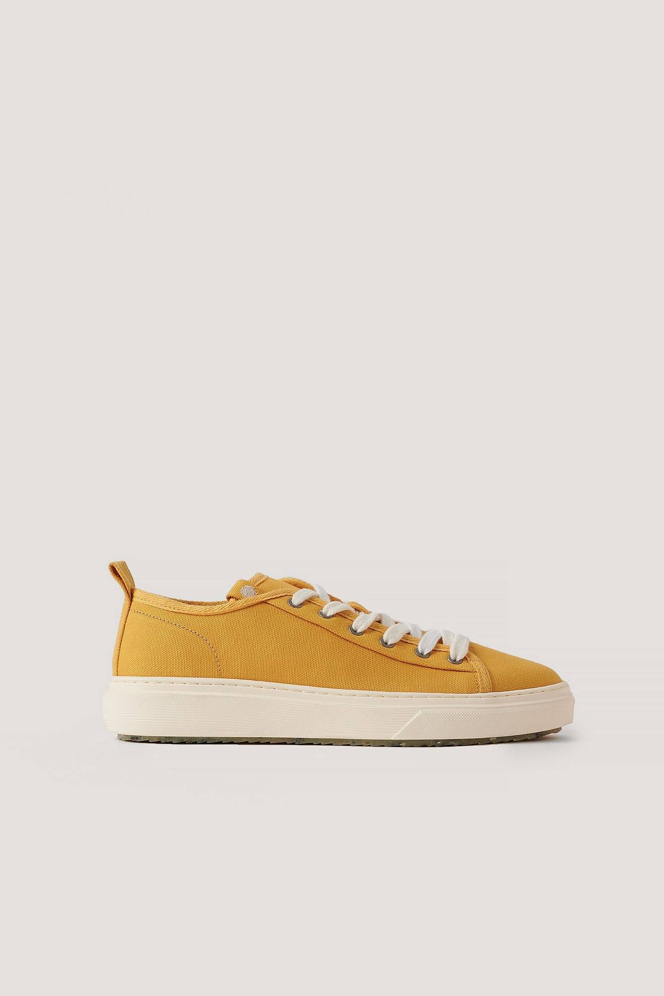 Zouri Shoes Klassiske Sneakers - Yellow
