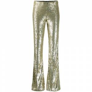 P.a.r.o.s.h. All over sequin trousers (Gul)