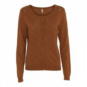 Soyaconcept Knitted cardigan DOLLIE (Brun)