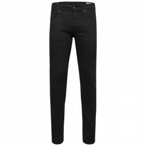 Selected Homme Jeans Slim fit (Sort)