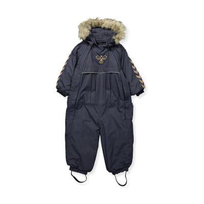Hummel Moon Snowsuit Outerwear (Blå) - Børnetøj - Hummel