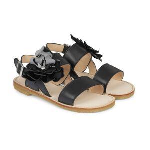 Angulus - Sandal med spænde, 4413 - Black (Sort)