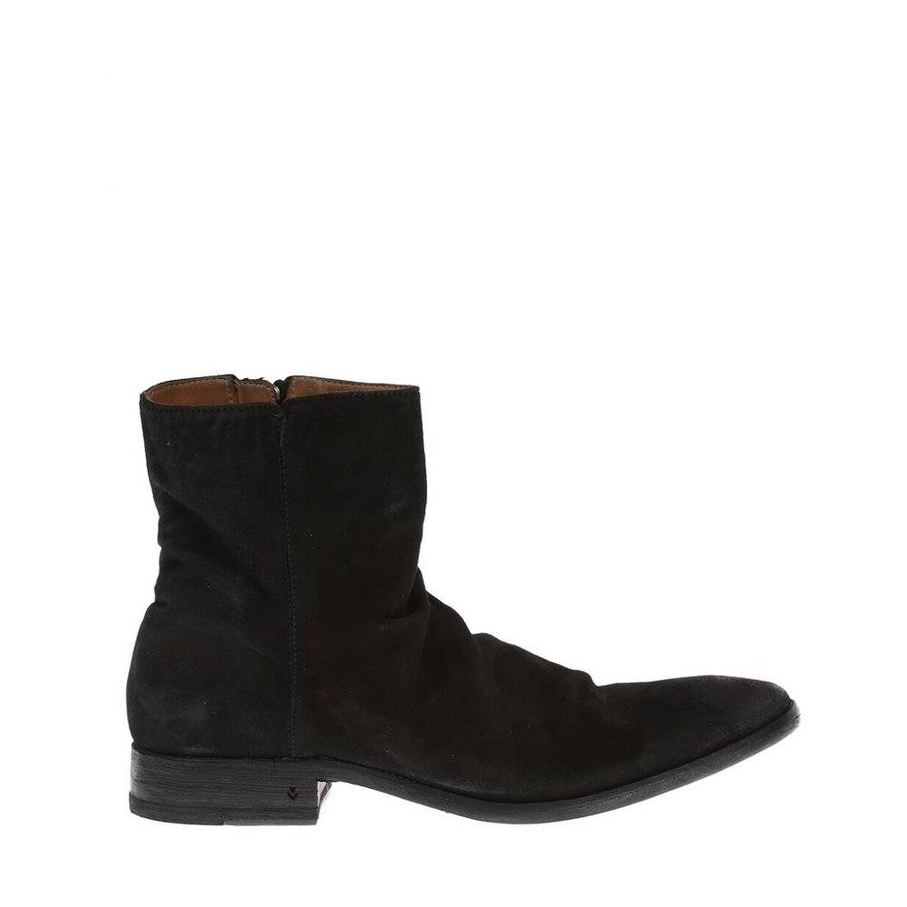 John Varvatos 'Keith' Suede Ankle Boots (Sort)