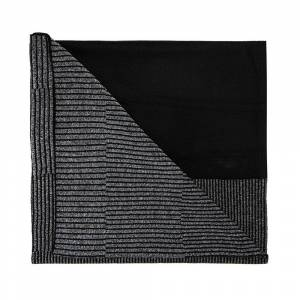 Y-3 Scarf with reflective effect (Sort)