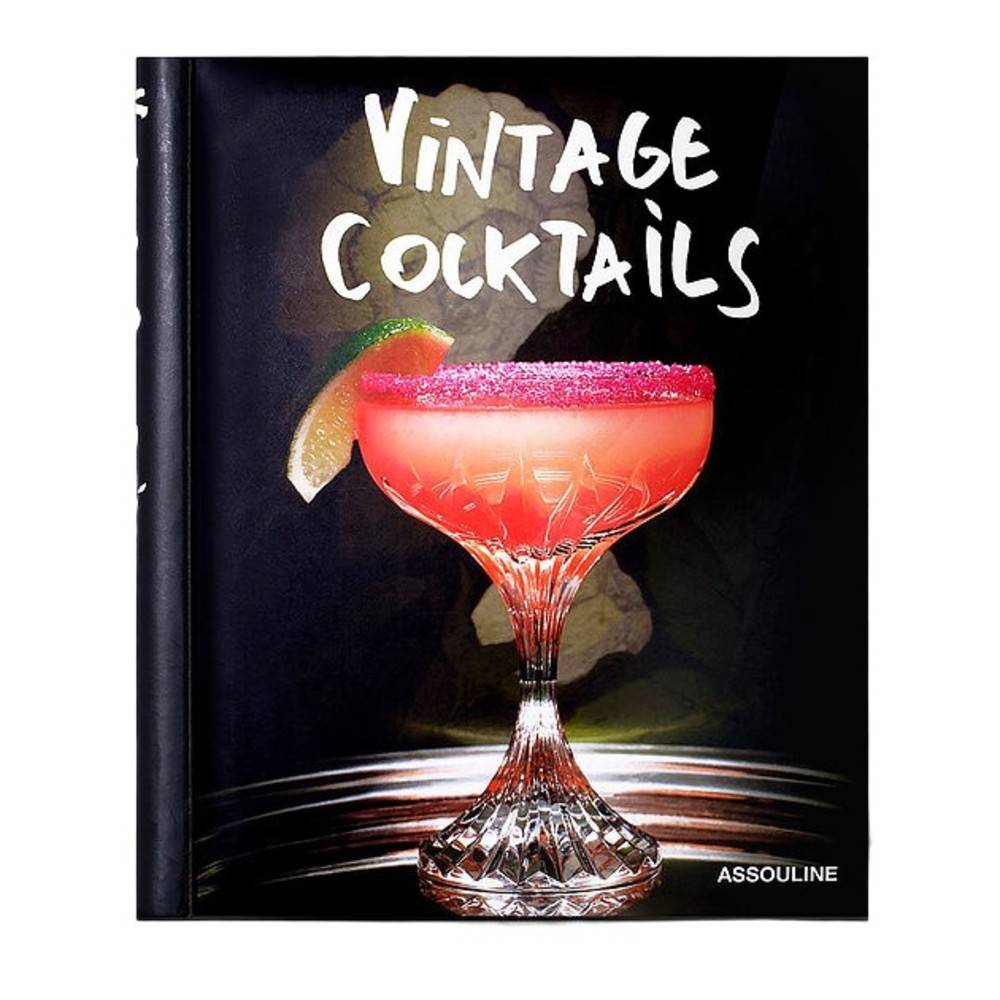 New Mags Vintage Cocktails Books / Interior (Sort)