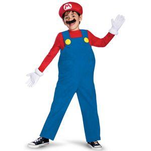 Vegaoo Mario Deluxe - udklædning til børn - 4-6 år (109-124 cm)