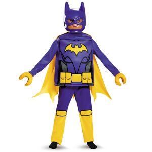 Vegaoo Kostume Deluxe Batgirl LEGO Movie til børn - 4-6 år (109-124 cm)