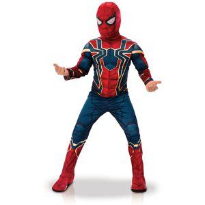 Vegaoo Iron Spider - Deluxe kostume til børn - Infinity War - 3-4 år (90-104 cm)