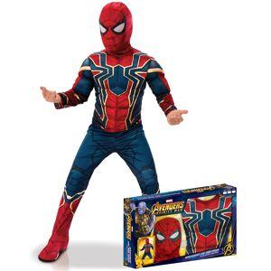 Vegaoo Deluxe Spiderman kostume til børn - Infinity War - 3-4 år (90-104 cm)