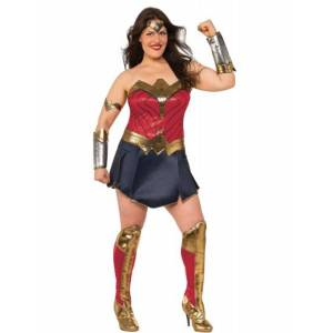 Vegaoo Deluxe Wonder Woman kostume til damer - Justice League