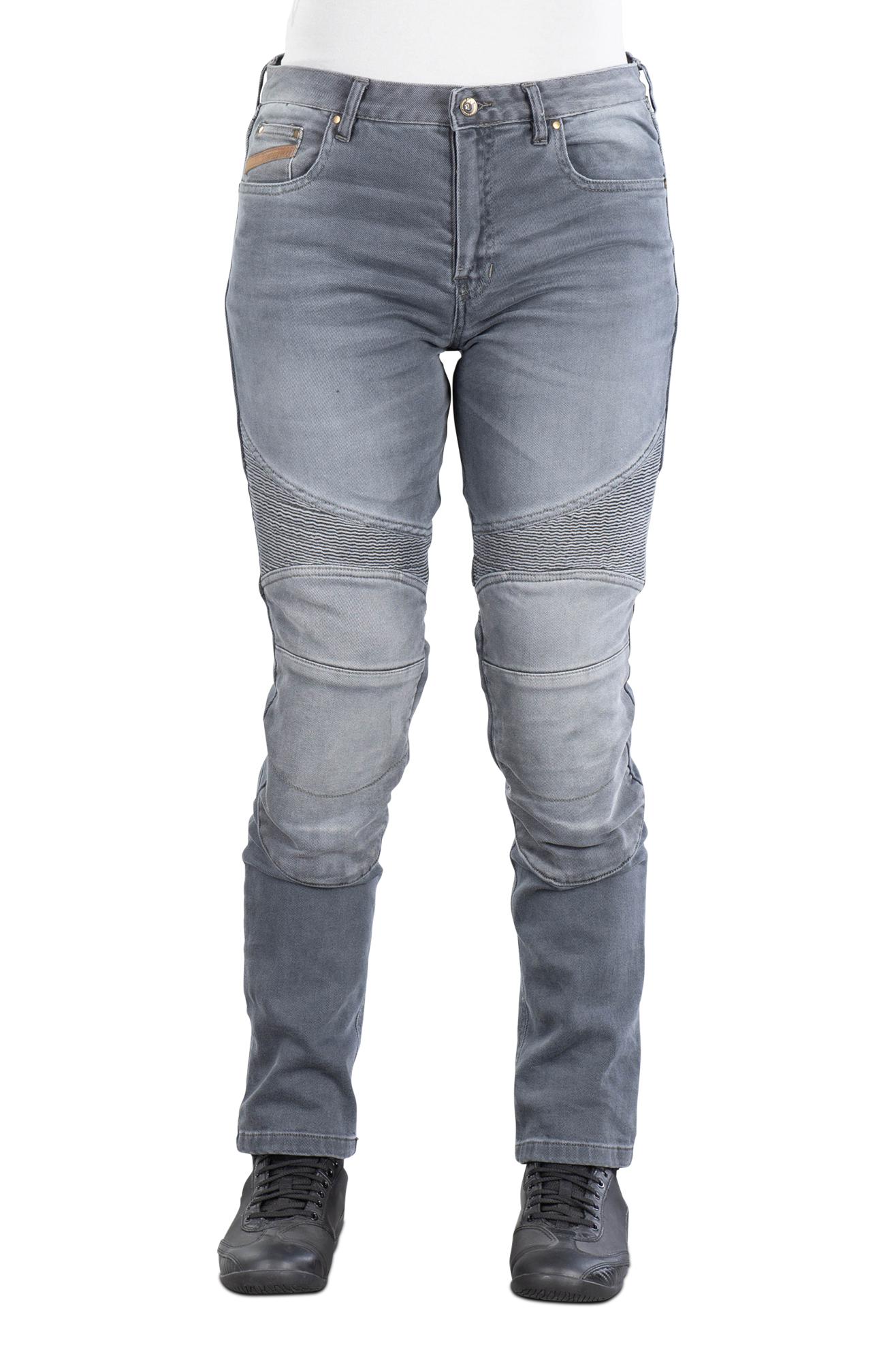 Furygan MC-Jeans Furygan Purdey Dame, Grå