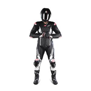 Læderdragt Alpinestars Racing Absolute Tech-Air®, Sort/Hvid