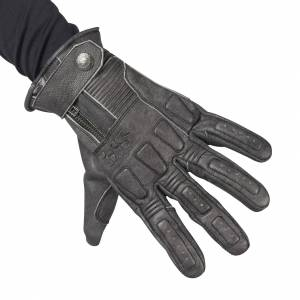 Handsker IXS Kelvin Vintage, Sort