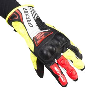 Handsker Five RFX4 Replica, Sort/Gul