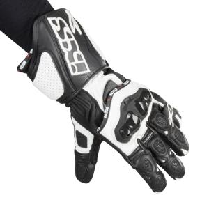 Handsker IXS RX-300 Sort-Hvid