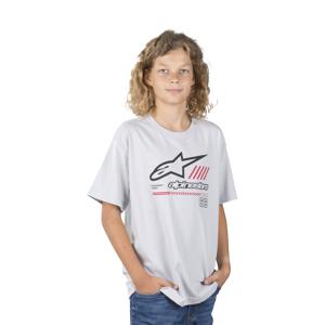 T-Shirt Alpinestars Strat Junior, Sølv