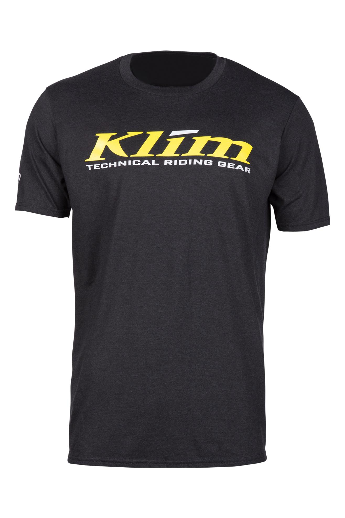 KLIM T-Shirt Klim K Corp Junior, Sort/Gul