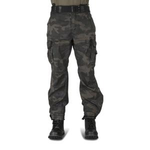 Bukser Brandit Royal Vintage, Sort Militær