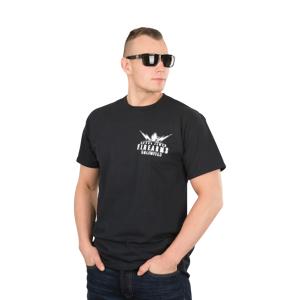 T-Shirt West Coast Choppers Blast Logo, Sort Sort