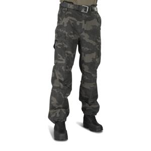 Bukser Brandit M65 Vintage, Sort Militær