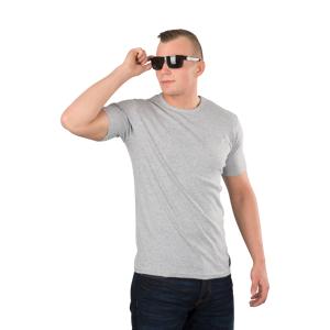 T-Shirt West Coast Choppers Jesse James Workwear Sturdy Pocket, Grå Grå