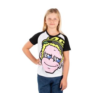 T-Shirt VR46 Valentino Rossi Junior, Hvid
