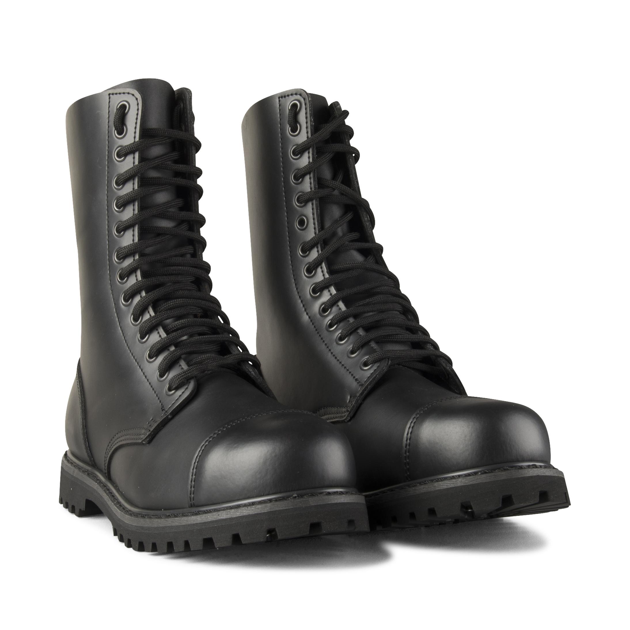 Støvler Brandit Phanthom Boots 14 Snørehuller, Sort