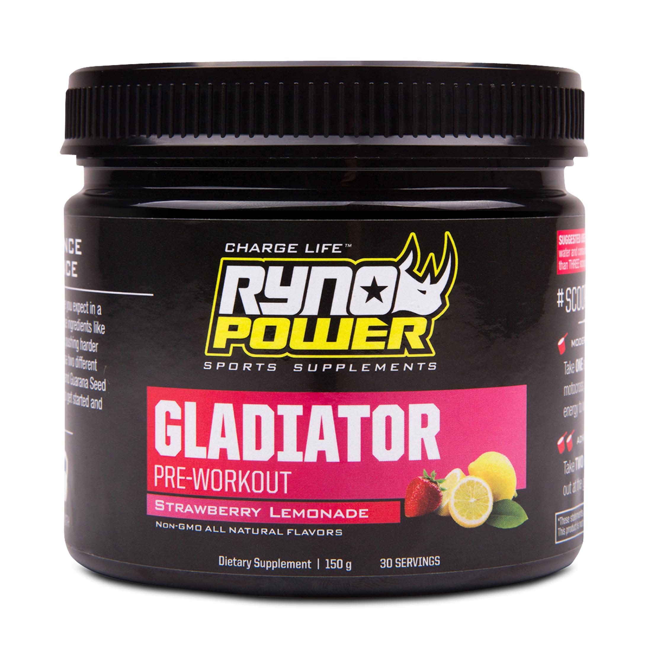 Ryno Power Pre-Workout Ryno Power Gladiator 30 Portioner