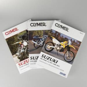 Suzuki Reparationshåndbog Clymer Suzuki søg på model