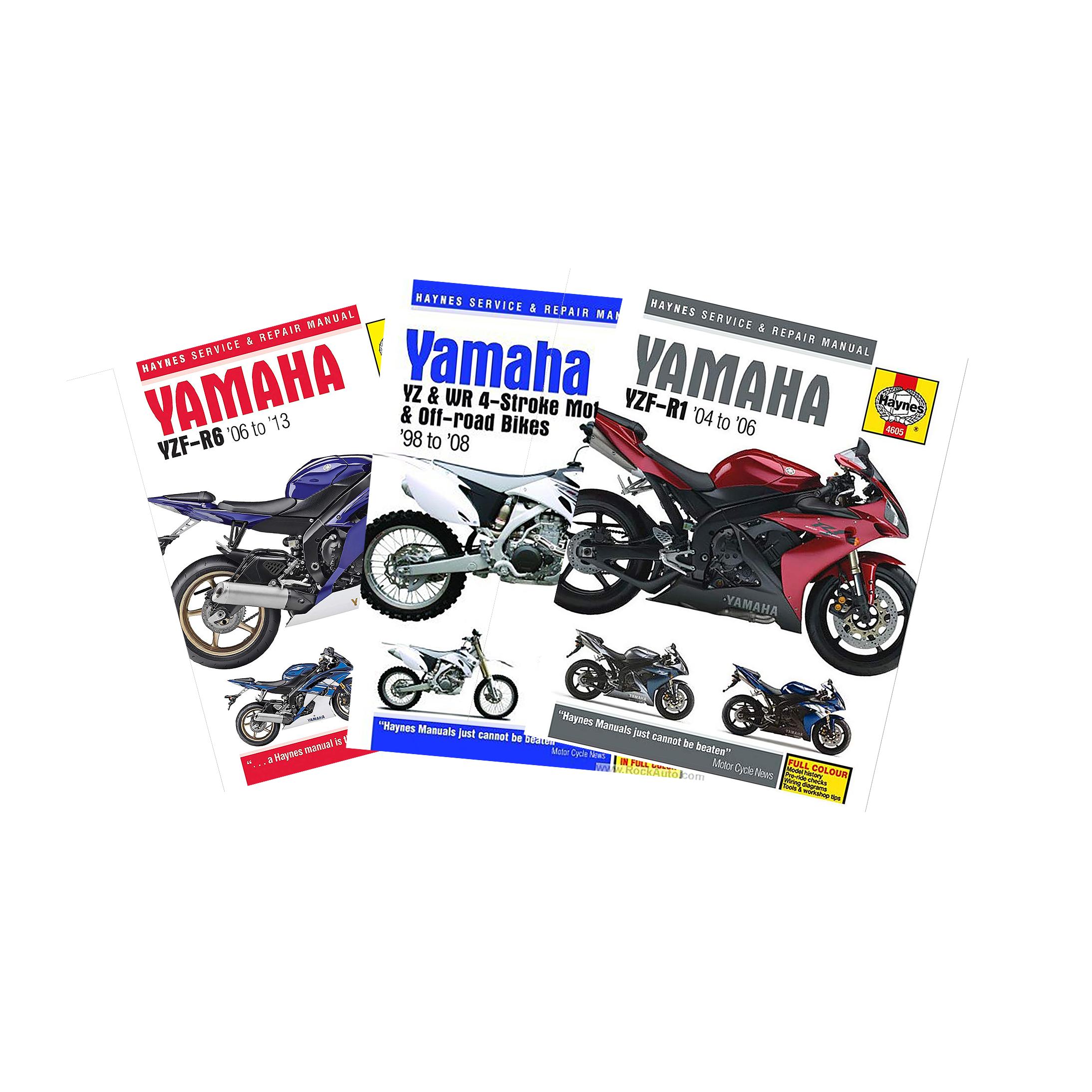 Haynes Reparationshåndbog Haynes Yamaha søg på model