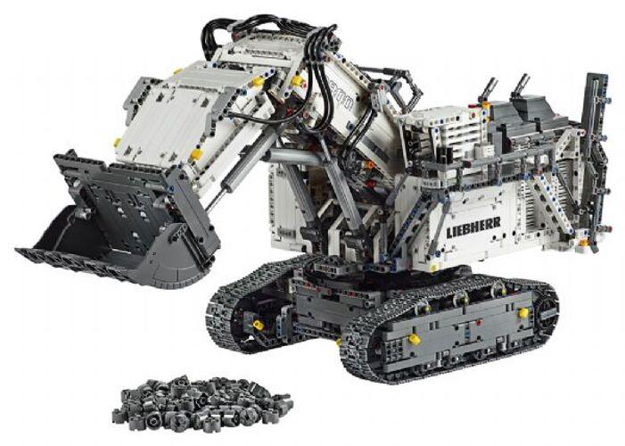 Lego Liebherr R 9800 Gravemaskin...