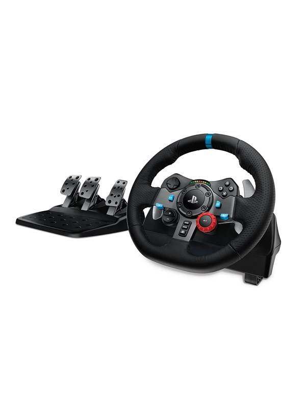 Logitech G29 Driving Force Racing Wheel (PS4 / PS3 / PC) - Rat & Pedal sæt - Sony PlayStation 4